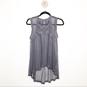 Free People Maisie Lace Tunic